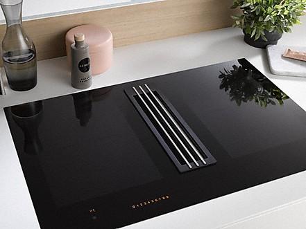 miele kmda 7774 fr inductiekookplaat met ge ntegreerde afzuiging. Black Bedroom Furniture Sets. Home Design Ideas